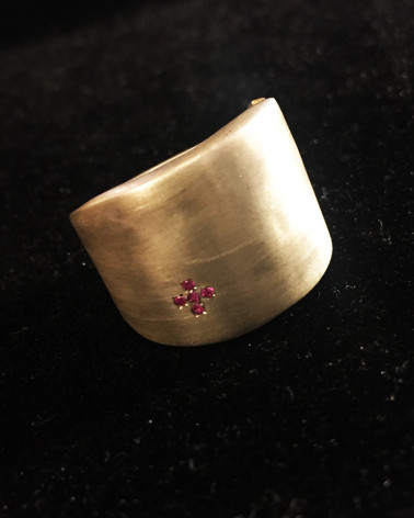 Rosa Maria - Large Silver Ring
