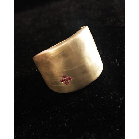 Rosa Maria - Large Silver Ring