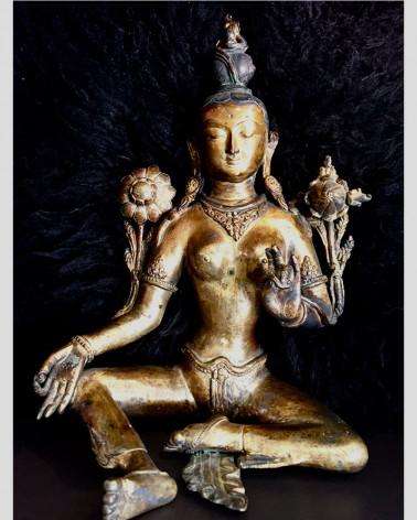 tara bronze statue