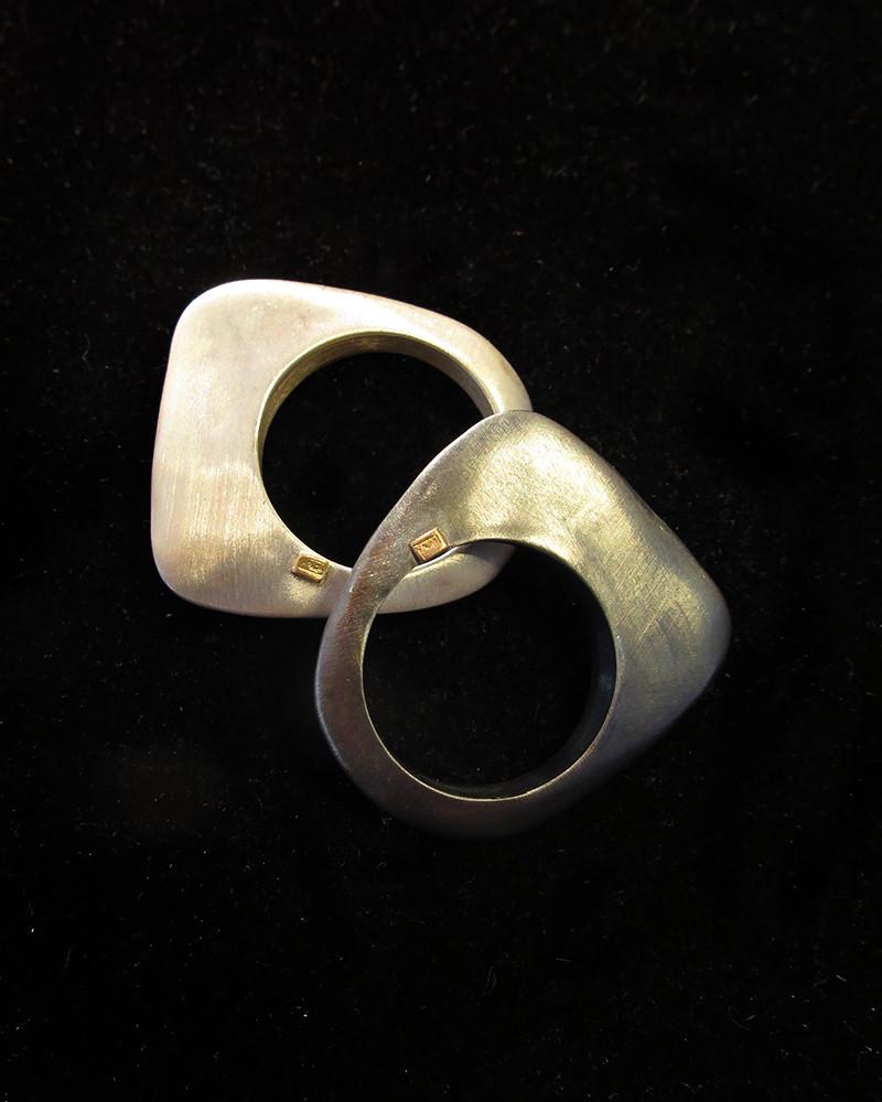 Rosa Maria - Angela silver ring
