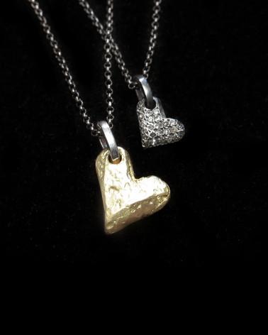 heart pendant rosa maria