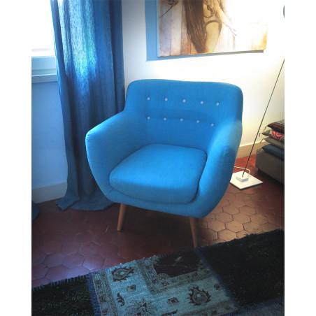 Fauteuil Sentou Bleu