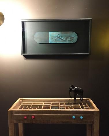 Criquet Pharmaceutika en exposition à la galerie Retour de Voyage, Noël 2018