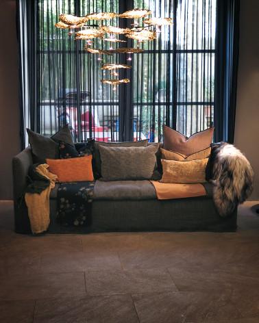 Maison de Vacances - Sofa nomade kaki