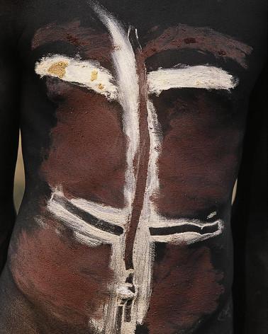 Hans Silvester peintures corporelles