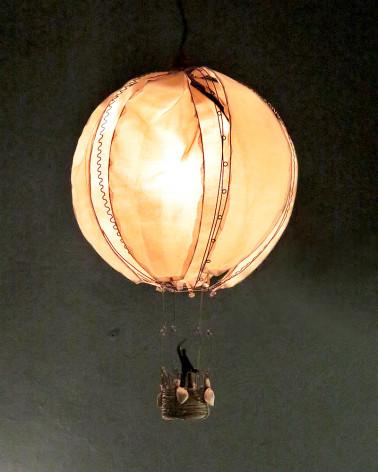 Lampe montgolfière vox populi