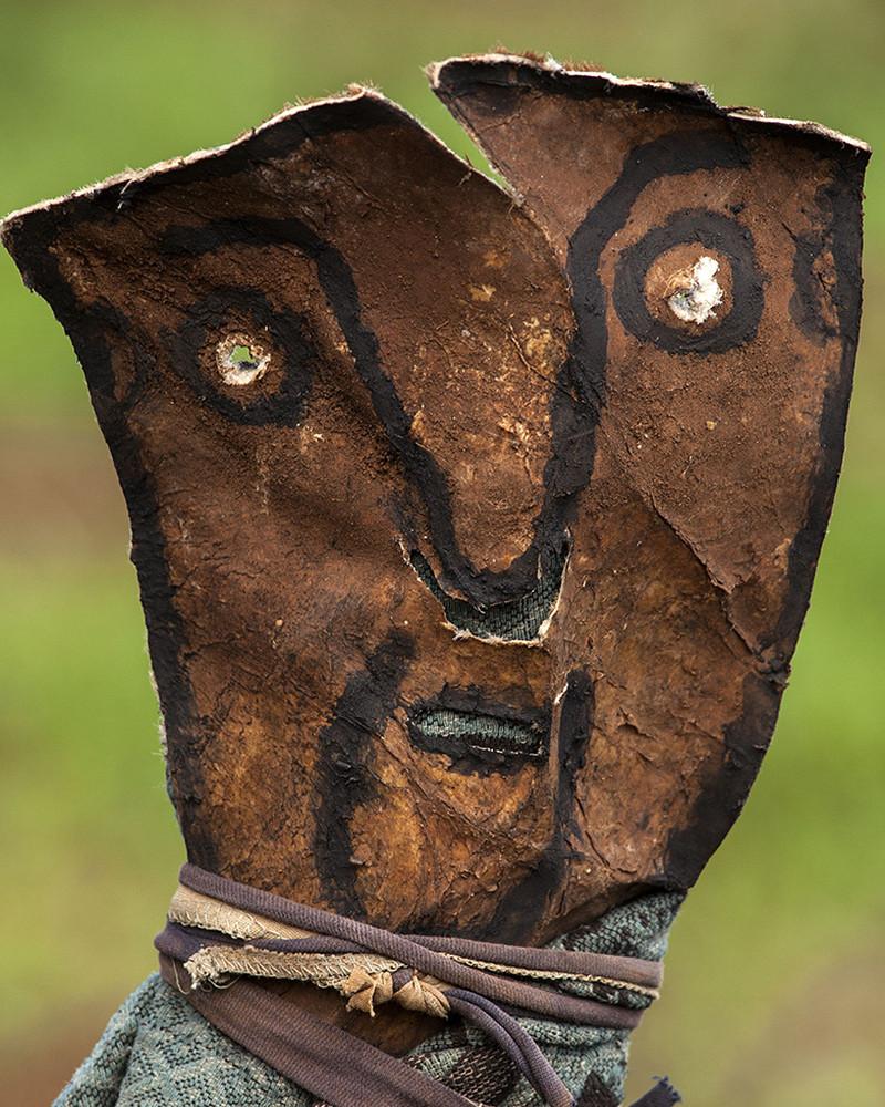 Hans Silvester épouvantail Ethiopie