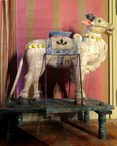 Inde - Statue vache sacrée