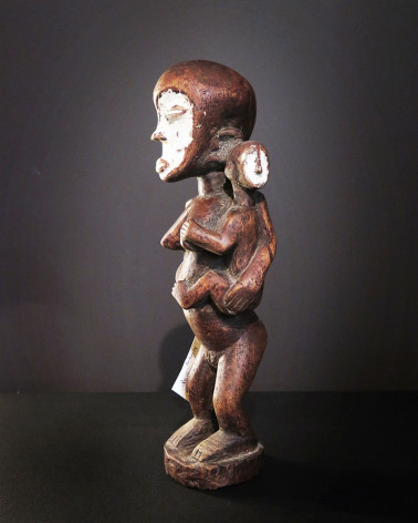 Afrique - Mother and baby statue