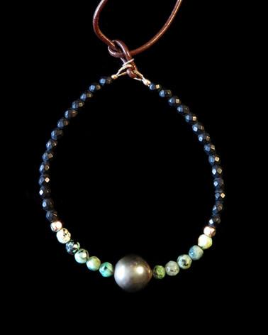 Catherine Michiels - Bracelet Perle Tahitienne