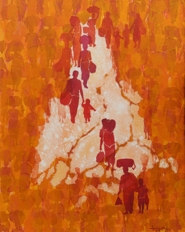 Than Kyaw Htay - Silent Walk