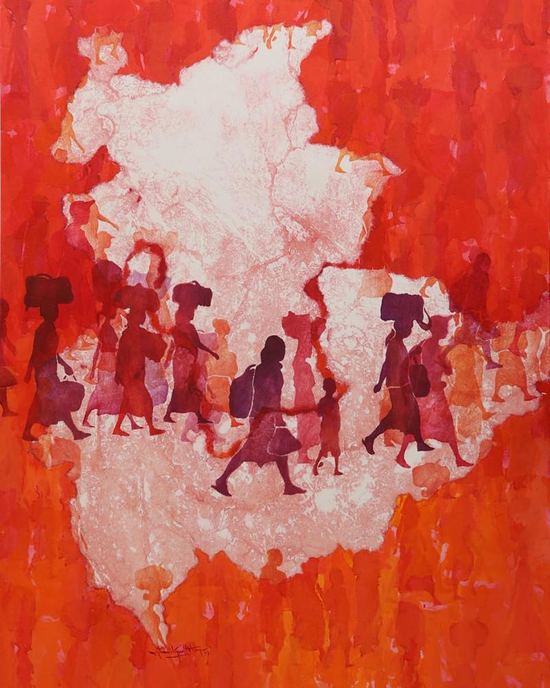 Than Kyaw Htay - Silent Walks, Myanmar States