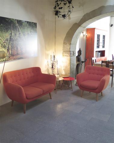 Sentou red Sofa