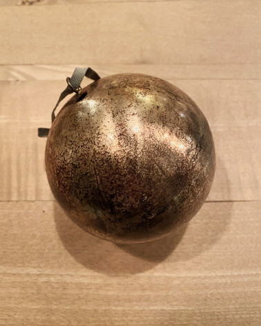 Christmas Baubles - Champagne Copper