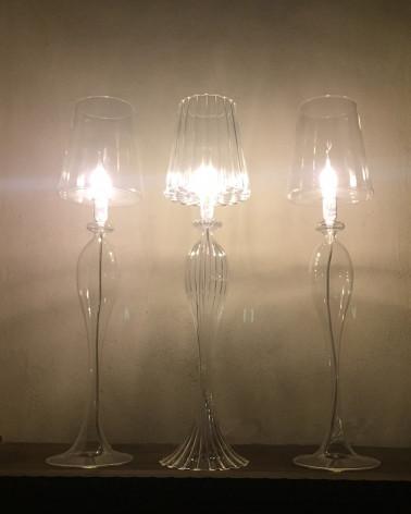 les héritiers lampe verre soufflée