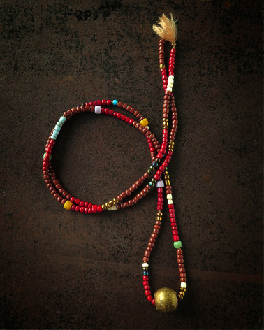 Catherine Michiels - African beads Necklace