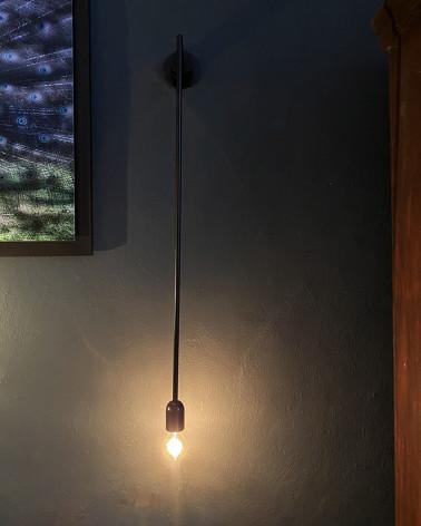 Vide - Hôtel - Longue applique noire