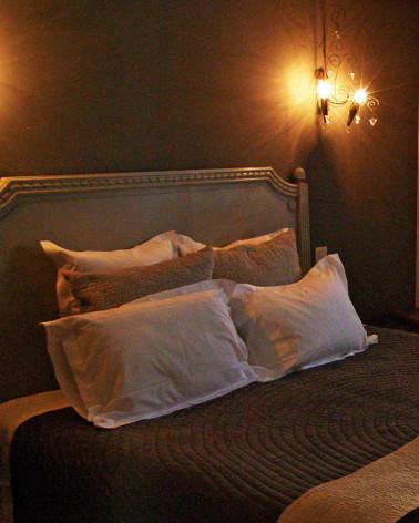 Vide - Hôtel - Tête de lit en bois