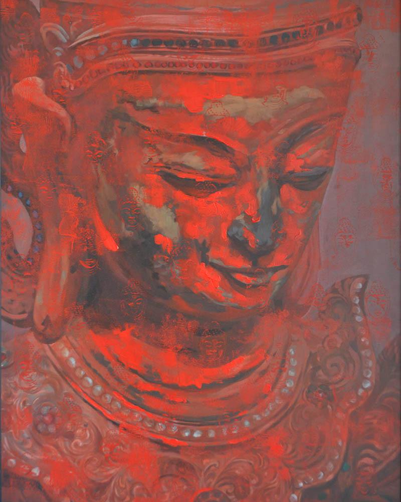 Khin Zaw Latt - Ancient Buddha