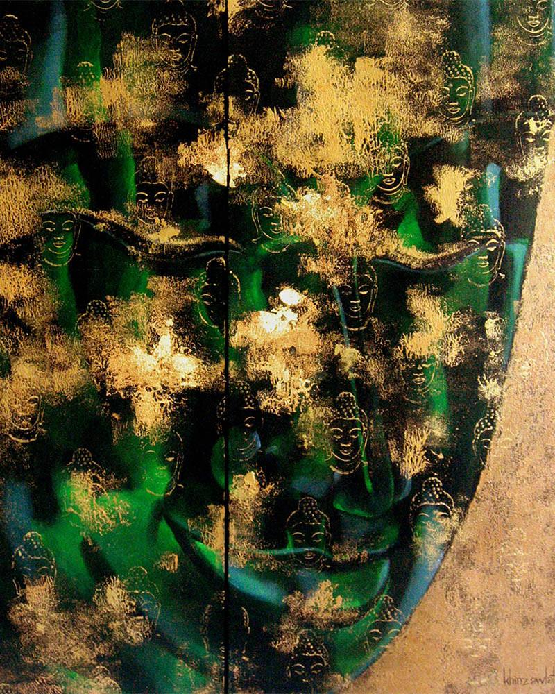 Khin Zaw Latt - Emerald Buddha