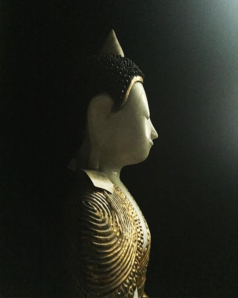 birmanie buddha albatre