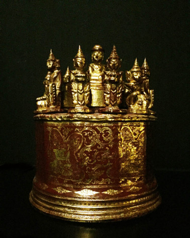 Birmanie - Boîte médecine