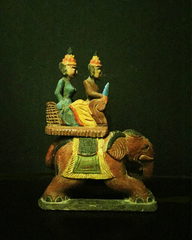 Burma - Elephant Box
