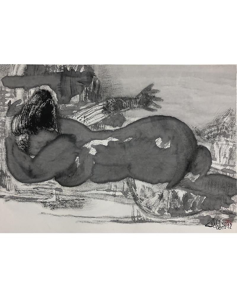 Guan Yuliang - Lavis
