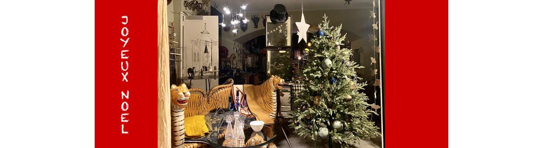 Décorations et cadeaux de Noël
