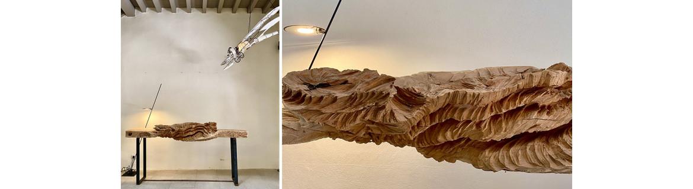 The sculptures of Marc Nucera on the website Retour De Voyage