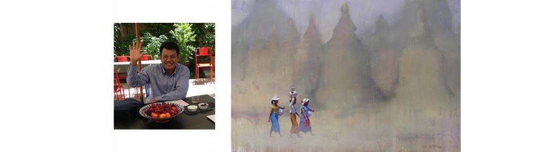 Artist Than Kyaw Htay