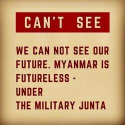 Photo témoignage #coupdetat #myanmar  RetouRDeVoyage soutient les photos-journalistes et vend leur photos. Les revenus seront versés aux photographes   Nous contacter pour participer à ce soutien.